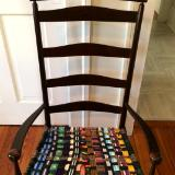 Zippers and Belts Chair