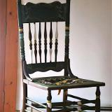 A Coat of Many Colors Chair
