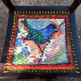 Detail of Indigo Bunting Chair