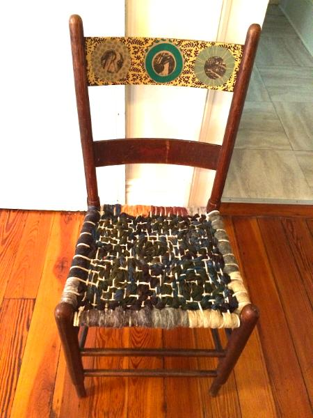 Roving and Collage Chair
