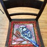 Detail of Bluejay Chair