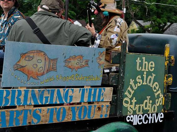 """The Outsider's Studio Collective: Since 2009 to 2015 (The OSC """"Representing"""" at the annual Trout Parade)"""