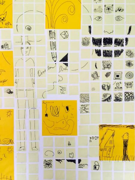 Post-its Doodle-a-thon